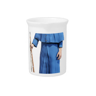 Union Soldier Guard Drink Pitcher