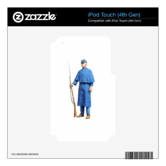 Union Soldier Guard Skin For iPod Touch 4G