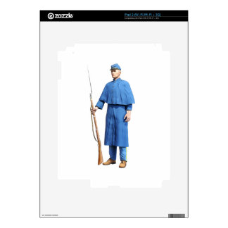 Union Soldier Guard Skin For The iPad 2