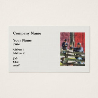 Union Soldier Loading Rifle Business Card