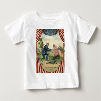 Union Soldier Tombstone Cemetery US Flag Tee Shirt