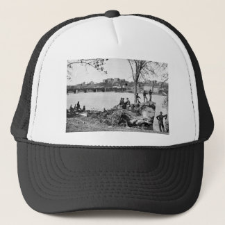 Union soldiers guarding the Potomac River in 1861 Trucker Hat