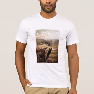 Union Soldiers On Lookout Mountain -- Civil War T-Shirt