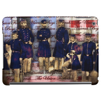 Union Soldiers With Flag Case For iPad Air