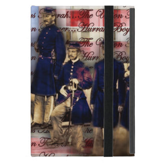 Union Soldiers With Flag Case For iPad Mini