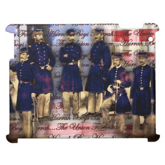 Union Soldiers With Flag Case For The iPad