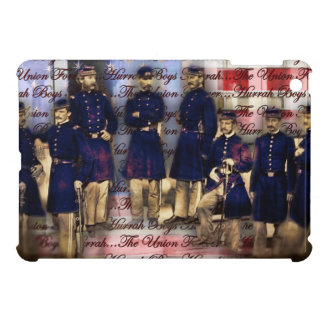Union Soldiers With Flag Case For The iPad Mini