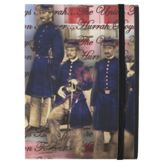 """Union Soldiers With Flag iPad Pro 12.9"""" Case"""