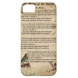 "Union Song ""The Battle Cry of the Republic"" iPhone SE/5/5s Case"