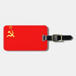 Unión Soviética Etiquetas Para Equipaje
