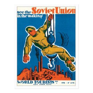 Unión Soviética Rusia Postales