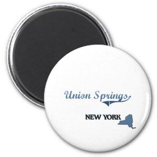 Union Springs New York City Classic Fridge Magnets