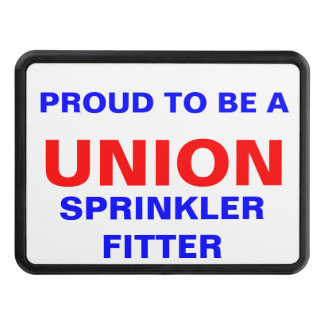 UNION SPRINKLER FITTER TRAILER HITCH COVER
