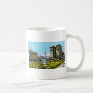 Union Square and St. Francis Hotel Classic White Coffee Mug