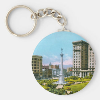 Union Square and St. Francis Hotel Keychain