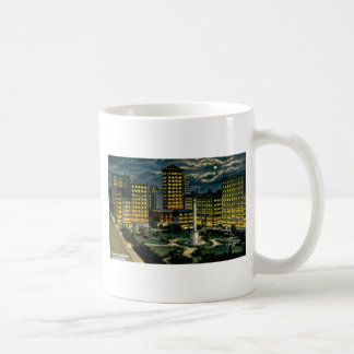 Union Square by Night, San Francisco, Cal. ~ 1910 Coffee Mug