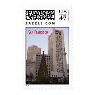 Union Square Christmas- San Francisco Postage