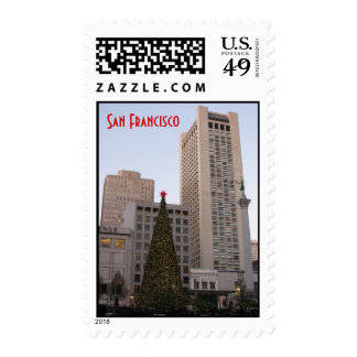 Union Square Christmas- San Francisco Postage