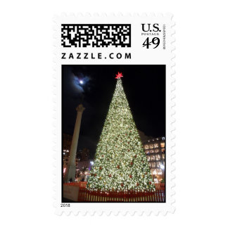 Union Square Christmas- San Francisco Postage Stamps