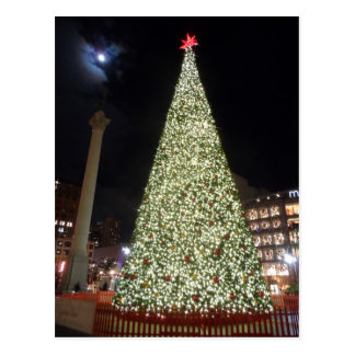 Union Square Christmas- San Francisco Postcard