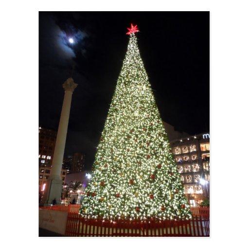 Union Square Christmas- San Francisco Post Cards