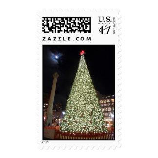 Union Square Christmas- San Francisco Stamp