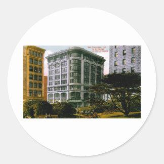 Union Square Classic Round Sticker