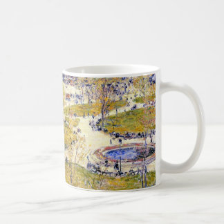 Union Square in Spring by Childe Hassam Coffee Mug