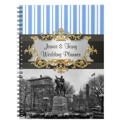Union Square NYC in Winter  01G Planner Notebook