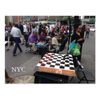 Union Square, NYC Postcard