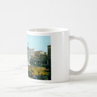 Union Square Park from Post and Powell Streets Classic White Coffee Mug