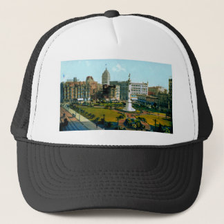 Union Square Park from Post and Powell Streets Trucker Hat