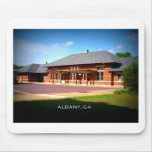 UNION STATION - Albany, Georgia Mouse Pad