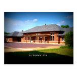 UNION STATION - Albany, Georgia Postcard