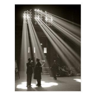Union Station Chicago, 1943 Postcard