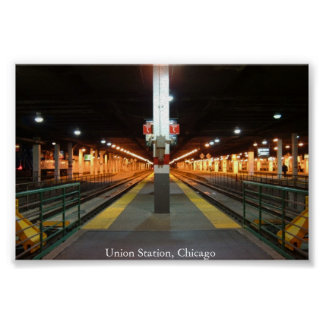 Union Station, Chicago Poster