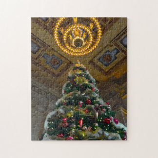 Union Station Christmas Tree Jigsaw Puzzle