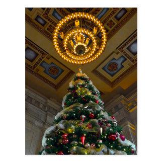 Union Station Christmas Tree Kansas City, Missouri Postcard