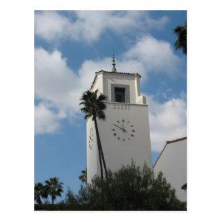 Union Station Clock Tower Postcard