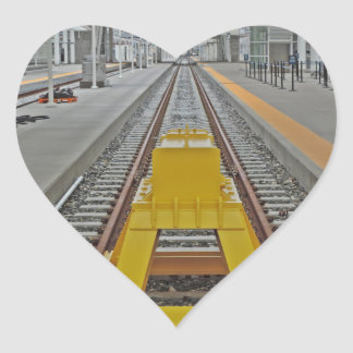 Union Station Denver Heart Sticker