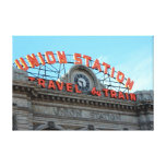 Union Station - Downtown Denver Gallery Wrap Canvas