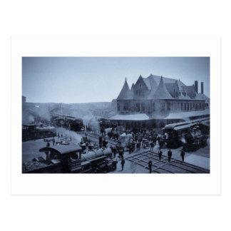 Union Station, Durand, Michigan Postcards