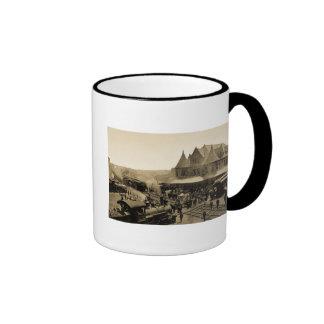 Union Station, Durand, Michigan Ringer Mug