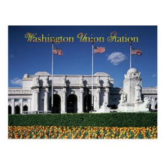 Union Station exterior, Washington, D.C. Postcard