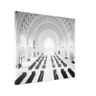 Union Station Grand Lobby 1910 Canvas Prints