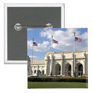 Union Station in Washington, D.C. 2 Inch Square Button