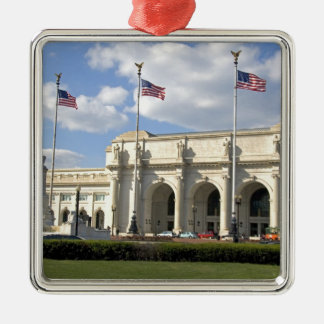 Union Station in Washington, D.C. Metal Ornament