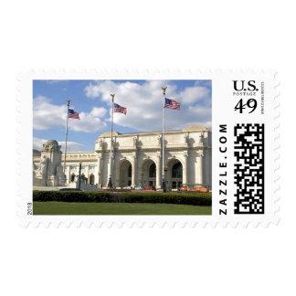 Union Station in Washington, D.C. Postage