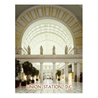 Union Station in Washington, D.C. Postcard