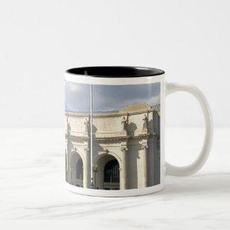 Union Station in Washington, D.C. Two-Tone Coffee Mug